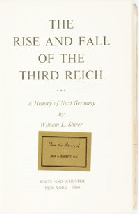 William L. Shirer. The Rise and Fall of the Third Reich. New York: Simon and Schuster, 1960. St