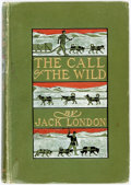 Books:Literature 1900-up, Jack London. The Call of the Wild. New York: The MacmillanCompany, 1903. First edition. ...