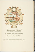 Books:Literature 1900-up, [Limited Editions Club]. Edward A. Wilson, illustrator. SIGNED/LIMITED. Robert Louis Stevenson. Treasure Island. New...