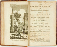 Isaac Walton, Charles Cotton and John Hawkins. The Complete Angler, or Contemplative Man's Recreation; Being a