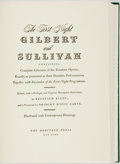 Books:Music & Sheet Music, [Gilbert and Sullivan]. Reginald Allen, editor. The First Night Gilbert and Sullivan Containing Complete Librettos of th...