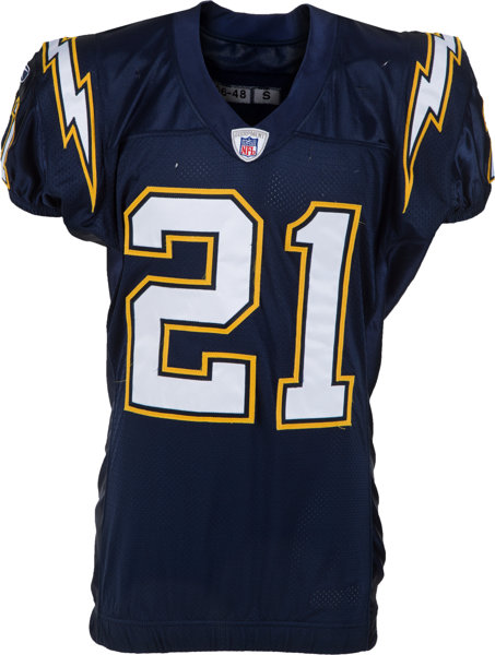 finest selection e9c40 58071 2006 LaDainian Tomlinson Game Worn San Diego Chargers Jersey ...