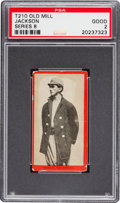 Baseball Cards:Singles (Pre-1930), 1910 T210 Old Mill Series 8 Joe Jackson PSA Good 2. ...