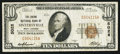 National Bank Notes:West Virginia, Sistersville, WV - $10 1929 Ty. 1 The Union NB Ch. # 5028. ...