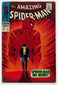 Silver Age (1956-1969):Superhero, The Amazing Spider-Man #50 (Marvel, 1967) Condition: GD....