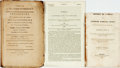 Books:Americana & American History, [Americana]. Group of Three Pamphlets and Books. Various publishersand dates. ... (Total: 3 Items)