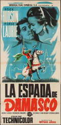 "Movie Posters:Adventure, The Golden Blade (Universal International, 1953). Spanish ThreeSheet (41"" X 80""). Adventure.. ..."
