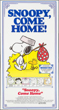 """Movie Posters:Animation, Snoopy, Come Home! (National General, 1972). Three Sheet (41"""" X 77""""). Animation.. ..."""