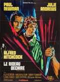 """Movie Posters:Hitchcock, Torn Curtain (Universal, 1966). French Grande (45.5"""" X 61.5"""").Hitchcock.. ..."""