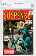 Silver Age (1956-1969):Science Fiction, Tales of Suspense #1 (Marvel, 1959) CBCS FN+ 6.5 White pages....
