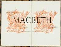 [Featured Lot]. [Salvador Dali, illustrations]. William Shakespeare. Macbeth. Garden City: Doub