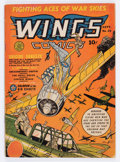 Golden Age (1938-1955):War, Wings Comics #25 (Fiction House, 1942) Condition: VG+....