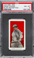 """Baseball Cards:Singles (Pre-1930), 1910 E98 """"Set of 30"""" Frank Chance - Red (Black Swamp Find) PSANM-MT 8. ..."""
