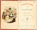Books:Literature Pre-1900, Charles Dickens. A Christmas Carol. London: Chapman &Hall, 1845. Twelfth edition....