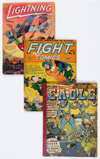 Golden Age Miscellaneous Reading Copy Comics Group of 47 (Various Publishers, 1940s-50s) Condition: Average FR.... (Tota...