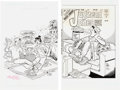 Original Comic Art:Covers, Stan Goldberg Jughead Cover Original Art Group of 2 (ArchieComics, 1993/2002).... (Total: 2 Original Art)