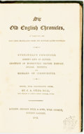 Books:World History, J. A. Giles, editor. Sir Old English Chronicles. London: George Bell & Sons, 1882. ...