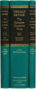 Books:Reference & Bibliography, Nigel Tattersfield. Thomas Bewick. The Complete Illustrative Work, Vols. I-III. [London: The British Library, 20... (Total: 3 Items)