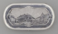 Silver Smalls:Cigarette Cases, A Russian Silver and Niello Scenic Cigarette Case: St.Petersburg, Assayer Khristian Ludwig Zuk, Moscow, Russia,...