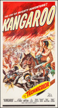 """Movie Posters:Adventure, Kangaroo & Other Lot (20th Century Fox, 1952). Three Sheets (2)(41.25"""" X 77.75"""" & 41"""" X 78.75""""). Adventure.. ... (Total: 2Items)"""