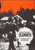 """Movie Posters:Foreign, Shame & Other Lot (Svensk Filmindustri, 1968). Swedish One Sheet (27.25"""" X 39.5"""") and Three Sheet on Linen (78.75"""" X 41""""). F... (Total: 2 Items)"""