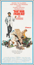 """Movie Posters:Foreign, That Man from Rio (United Artists, 1964). Three Sheet (41"""" X 78.75""""). Foreign.. ..."""