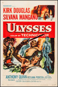 "Movie Posters:Adventure, Ulysses (Paramount, 1955). One Sheet (27.25"" X 41""). Adventure....."
