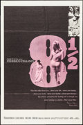 "Movie Posters:Foreign, 8½ (Embassy, 1963). One Sheet (27"" X 41""). Foreign.. ..."