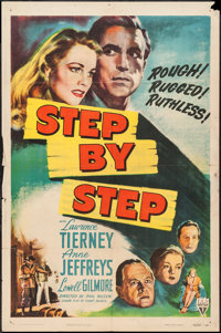 "Step by Step (RKO, 1946). One Sheet (27"" X 41""). Crime"