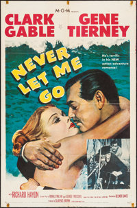 """Never Let Me Go (MGM, 1953). One Sheet (27"""" X 41""""). Adventure"""