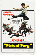 "Movie Posters:Action, Fists of Fury (National General, 1973). One Sheet (27"" X 41""). Action.. ..."