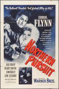 "Movie Posters:Adventure, Northern Pursuit (Warner Brothers, 1943). One Sheet (27"" X 41"").Adventure.. ..."