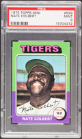 Baseball Cards:Singles (1970-Now), 1975 Topps Mini Nate Colbert #599 PSA Mint 9....