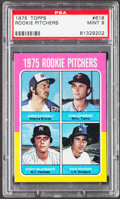 Baseball Cards:Singles (1970-Now), 1975 Topps Rookie Pitchers #618 PSA Mint 9....