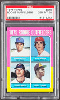 Baseball Cards:Singles (1970-Now), 1975 Topps Rookie Outfielders #619 PSA Gem Mint 10....