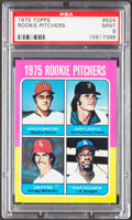 Baseball Cards:Singles (1970-Now), 1975 Topps Rookie Pitchers #624 PSA Mint 9....