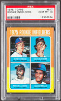 Baseball Cards:Singles (1970-Now), 1975 Topps Rookie Infielders #617 PSA Gem Mint 10....