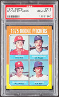 Baseball Cards:Singles (1970-Now), 1975 Topps Rookie Pitchers #615 PSA Gem Mint 10....