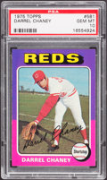 Baseball Cards:Singles (1970-Now), 1975 Topps Darrel Chaney #581 PSA Gem Mint 10....