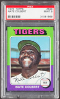 Baseball Cards:Singles (1970-Now), 1975 Topps Nate Colbert #599 PSA Mint 9....