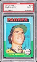 Baseball Cards:Singles (1970-Now), 1975 Topps Dave Roberts #558 PSA Mint 9....
