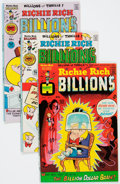 Bronze Age (1970-1979):Cartoon Character, Richie Rich Billions File Copy Group of 45 (Harvey, 1974-82)Condition: Average NM-.... (Total: 45 Comic Books)