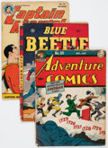 Golden Age (1938-1955):Miscellaneous, Golden Age Miscellaneous Comics Group of 5 (Various Publishers, 1940s-50s) Condition: Average VG.... (Total: 5 Comic Books)