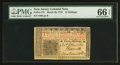 Colonial Notes:New Jersey, New Jersey March 25, 1776 12s PMG Gem Uncirculated 66 EPQ.. ...