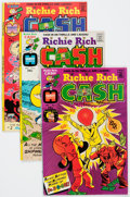 Bronze Age (1970-1979):Cartoon Character, Richie Rich Cash File Copy Group of 109 (Harvey, 1974-82)Condition: Average NM-.... (Total: 109 Comic Books)