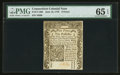 Colonial Notes:Connecticut, Connecticut June 19, 1776 9d PMG Gem Uncirculated 65 EPQ.. ...