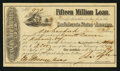 Confederate Notes:Group Lots, Ball 284 Cr. 139 $100 1864 Stock Certificate Interest Forms. ...