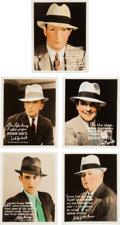 Baseball Collectibles:Others, C. 1933 Adams Hat Stores Real Photo Premiums, Display Signs andMatchbook Cover. ...