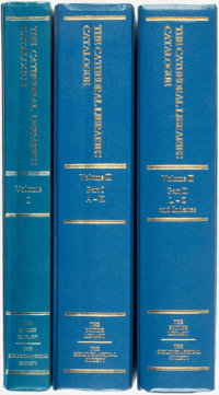 [Bibliography]. Margaret S. G. McLeod. The Cathedral Libraries Catalogue. Books Printed Before 1701 in the Libr