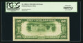 Error Notes:Inverted Reverses, Fr. 2054-G $20 1934 Light Green Seal Federal Reserve Note. PCGSAbout New 50PPQ.. ...